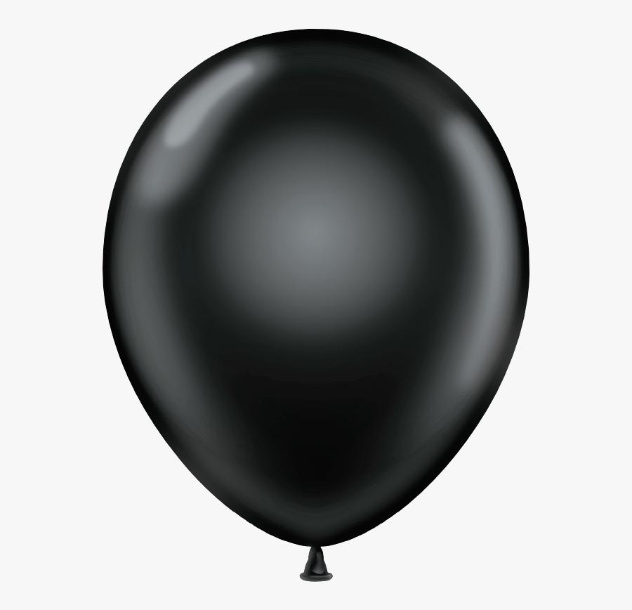 Black Balloons - Transparent Black Balloon Png, Transparent Clipart
