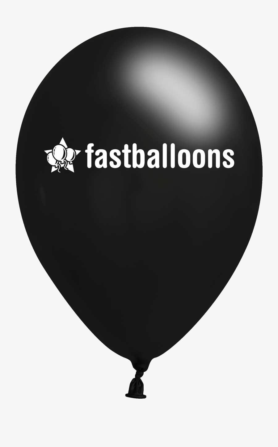 Transparent Party Balloons Clipart Black And White - Balloon, Transparent Clipart