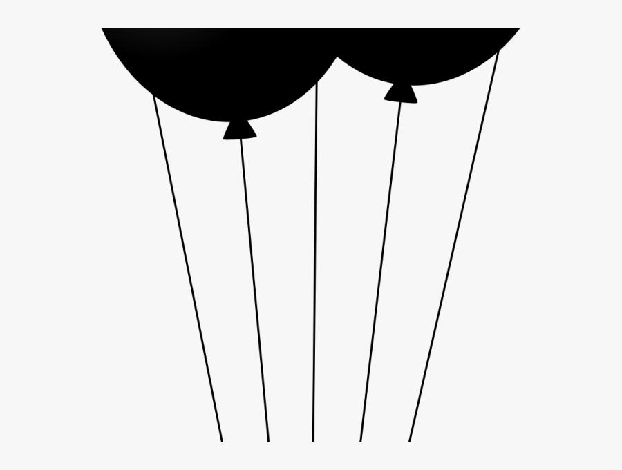 Balloon Clipart , Png Download - Desenho Balão Preto E Branco Png, Transparent Clipart
