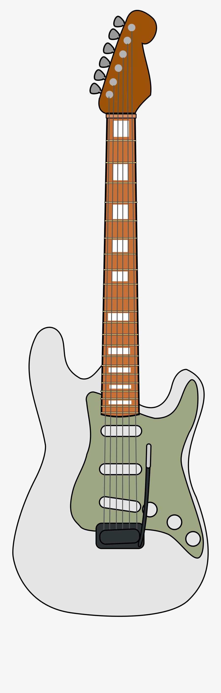 File Fender Stratocaster Wikimedia - Fender Stratocaster Vector, Transparent Clipart
