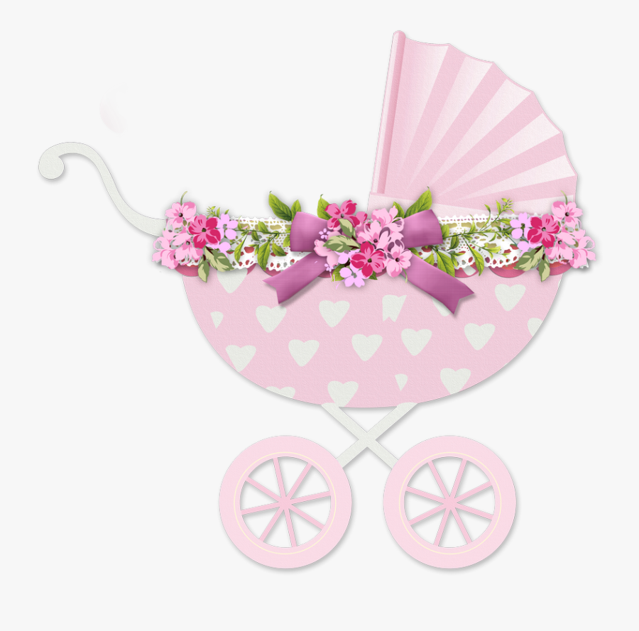 Transparent Baby Stroller Png - Baby Girl Christening Clipart Png, Transparent Clipart