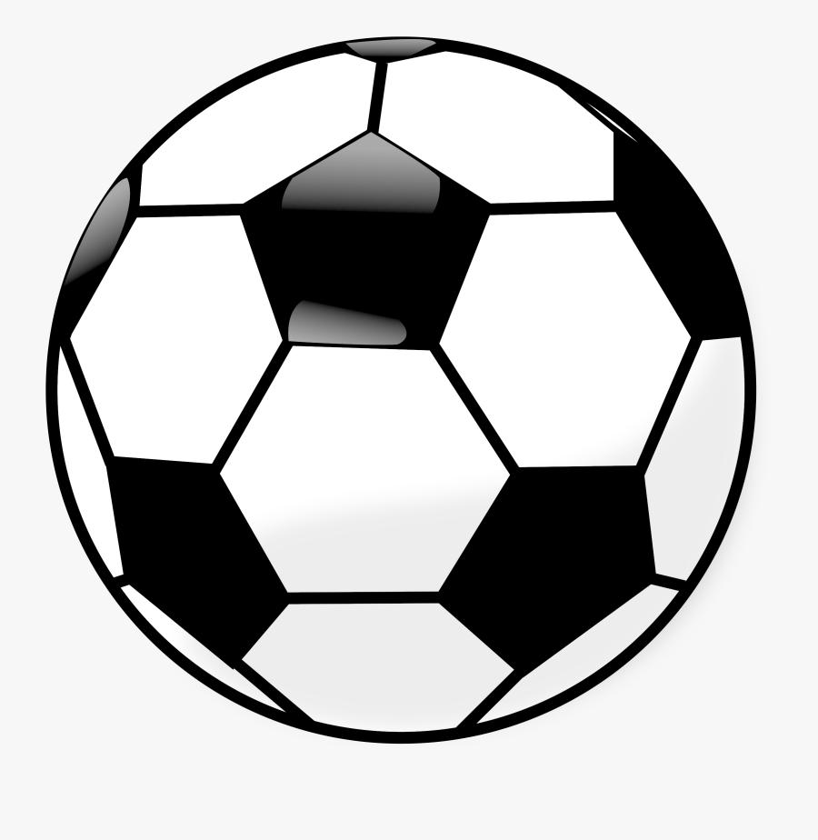 Clipart - Cartoon Soccer Ball Png, Transparent Clipart