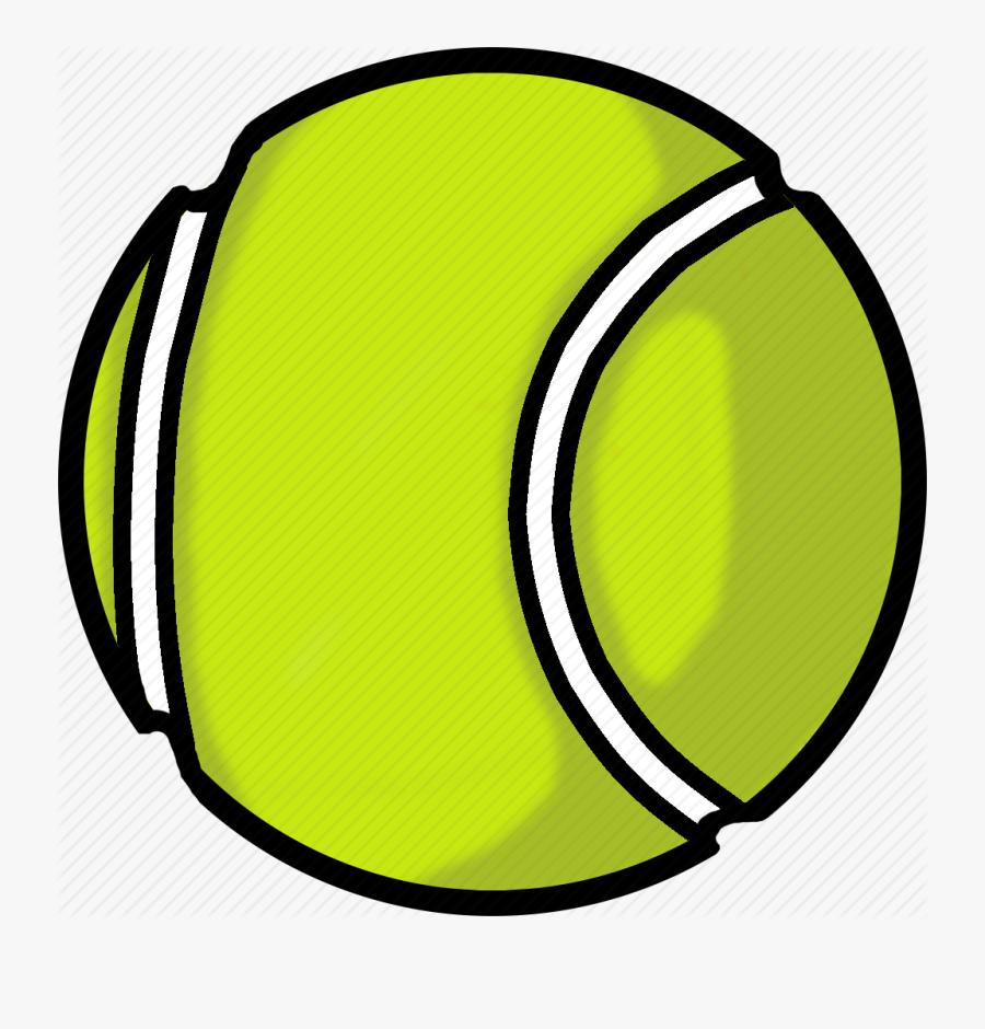 Sports Balls - Tennis Ball Clipart Png, Transparent Clipart