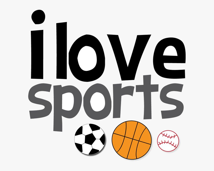 Sports Clipart Free Images Clipartcow Transparent Png - Like To Play Sports, Transparent Clipart