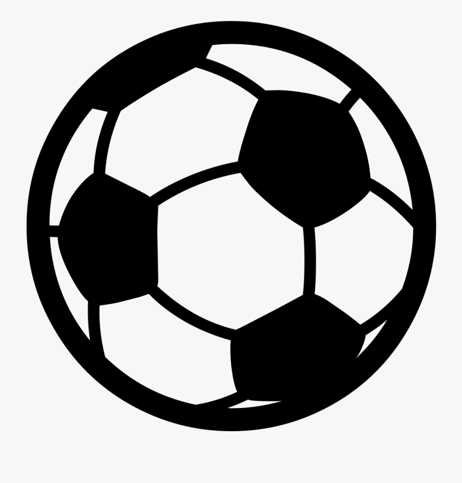 Transparent Sports Balls Clipart Black And White - Flying Soccer Ball Clipart, Transparent Clipart