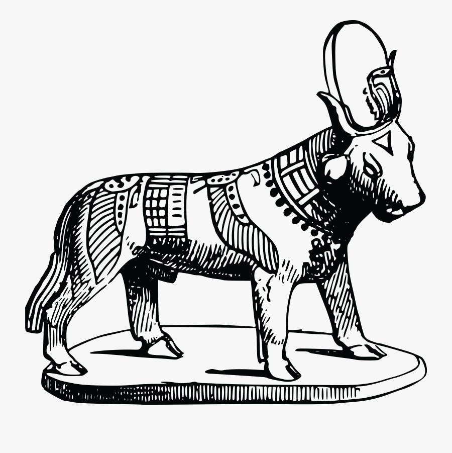 Transparent Egyptian Pyramid Clipart - Egyptian Bull, Transparent Clipart
