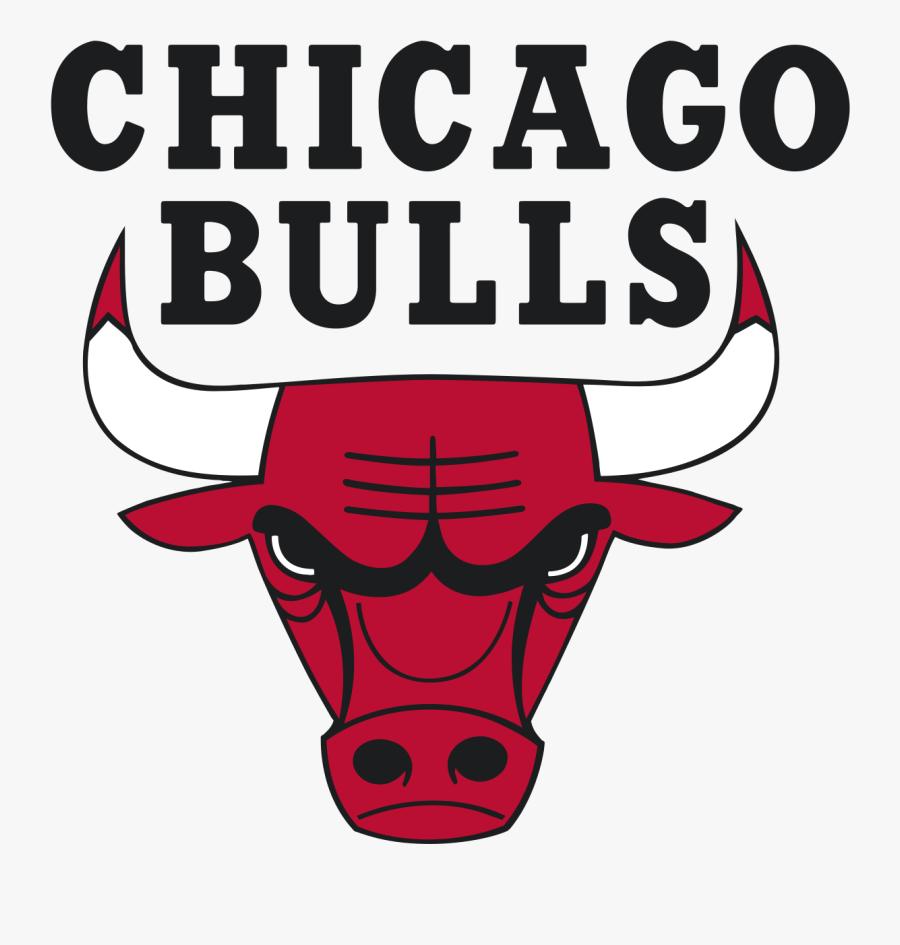 Red Bull Clipart Chicago Bulls - Chicago Bulls Logo Svg, Transparent Clipart