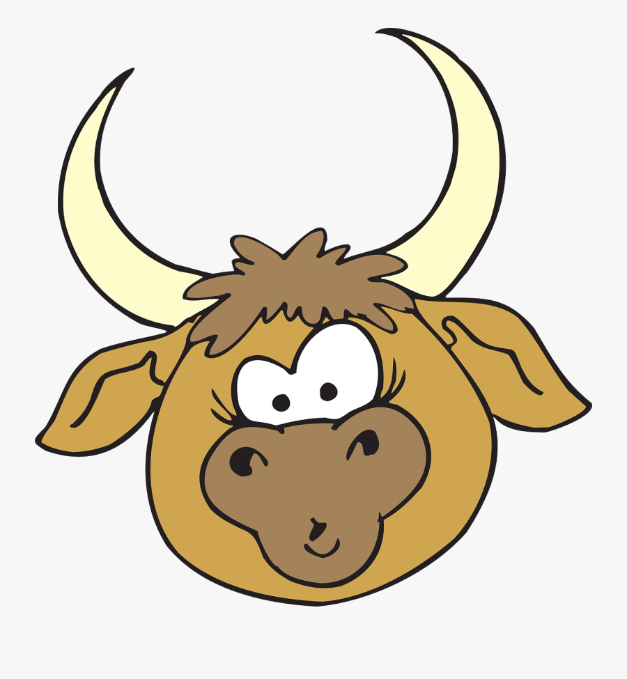 Bull Horns Clipart, Transparent Clipart
