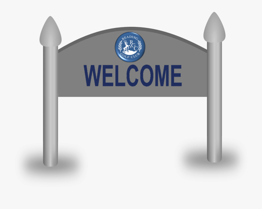 Welcome To Reading Golf Club - Reading Golf Club, Transparent Clipart