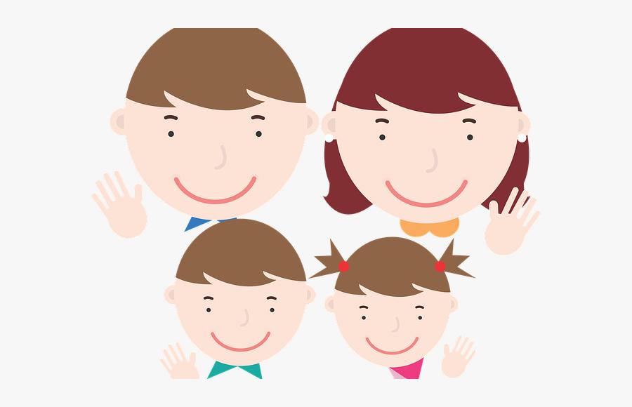 Gambar Kartun Keluarga Ayah Ibu Anak Free Transparent Clipart Clipartkey