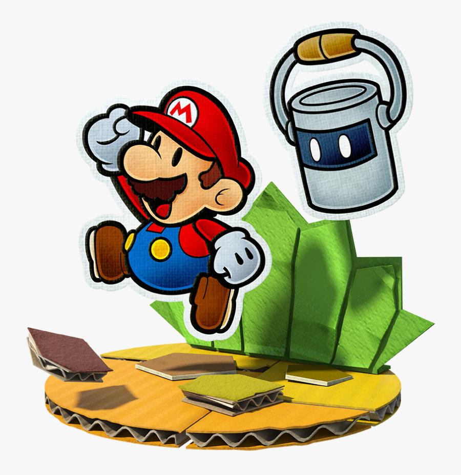 Green Color Splash Png Paper Mario Color Splash Free
