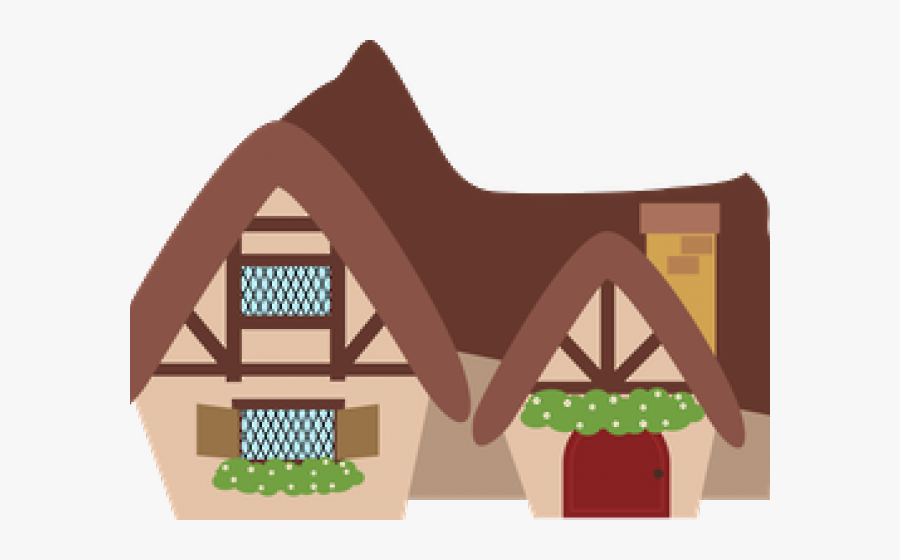 Little Red Riding Hood House Clipart, Transparent Clipart