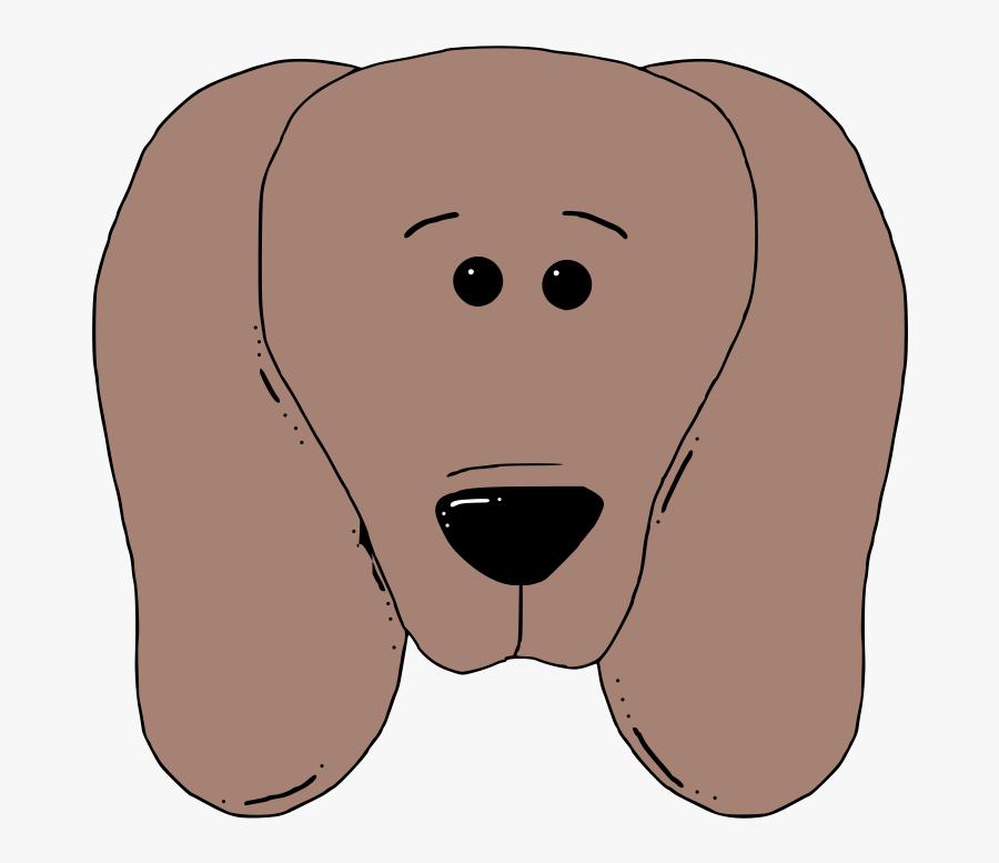 Carnivoran,dog Like Mammal,face - Dog Face Clip Art, Transparent Clipart