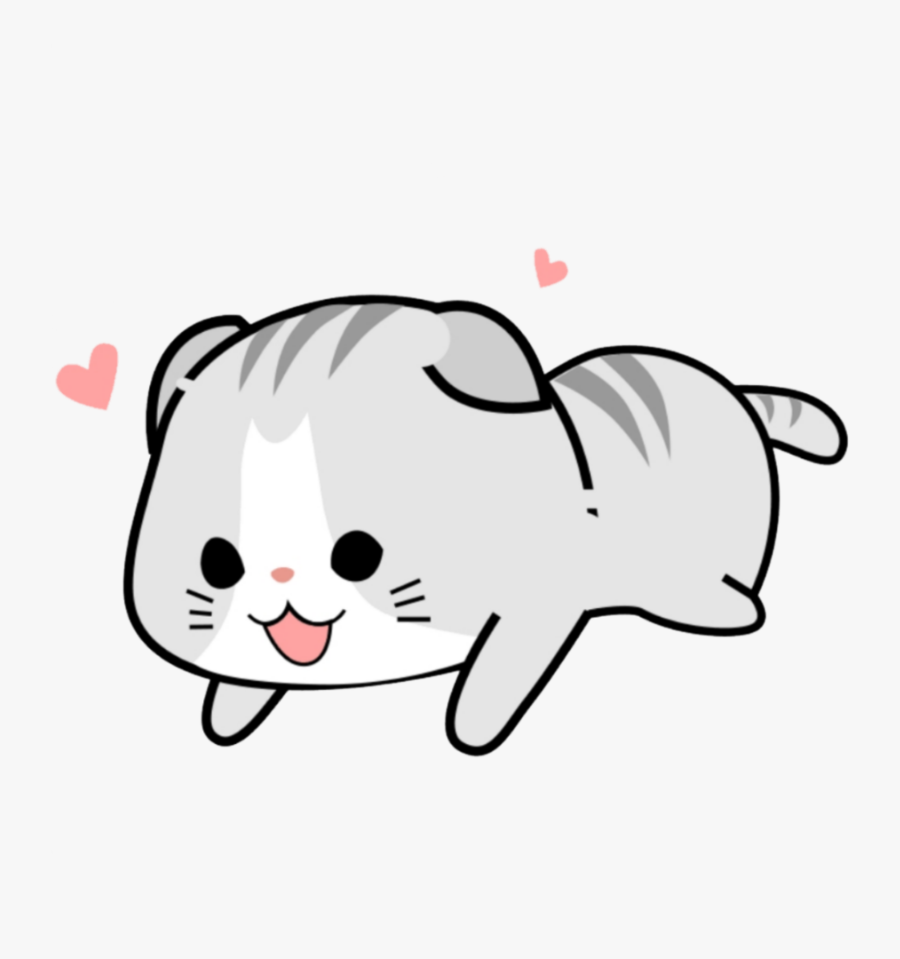 Cat Clipart Kawaii - Cartoon Cute Cats Png, Transparent Clipart
