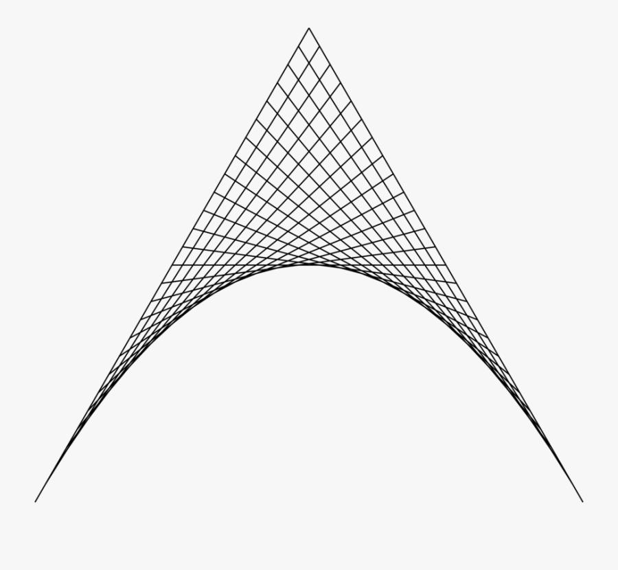 Line Art,triangle,symmetry - Geometric Arrow Png, Transparent Clipart
