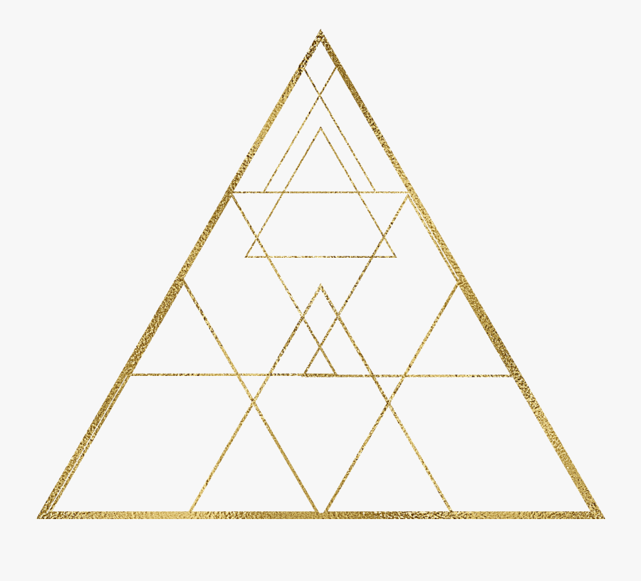 Geometry Golden Triangle Free Png Hq Clipart - Figuras Geométricas Imagens Triangulos, Transparent Clipart