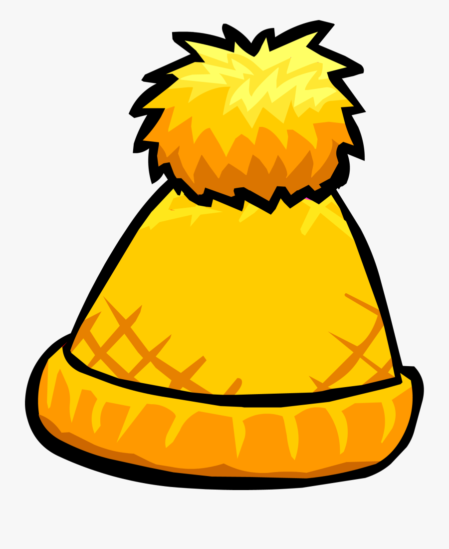 Club Penguin Rewritten Wiki - Toque Pom Pom Clipart, Transparent Clipart