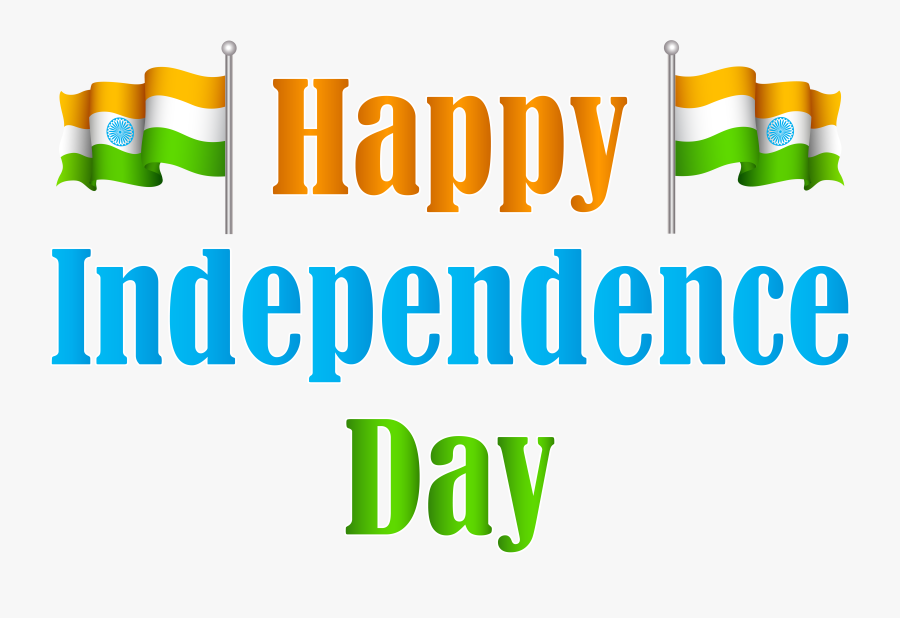 India Happy Independence Day Transparent Png Clip Art - Happy Independence Day Png, Transparent Clipart