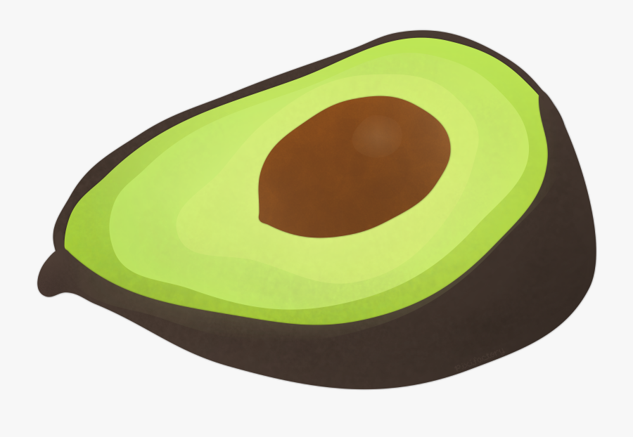 Download Avocado Drawing Clipart - Transparent Background Avocado Clipart, Transparent Clipart