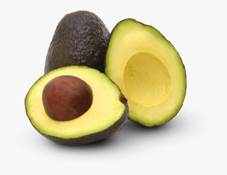 Hd Avocado Slice Dht Blocker Foods Free - Avocados Transparent, Transparent Clipart