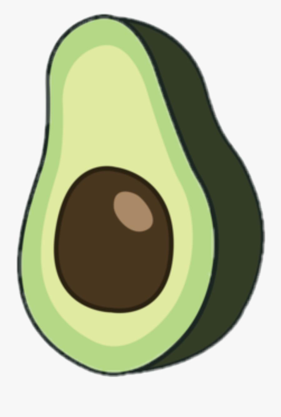 Clip Art Avocado Vector - Avocado Clipart, Transparent Clipart