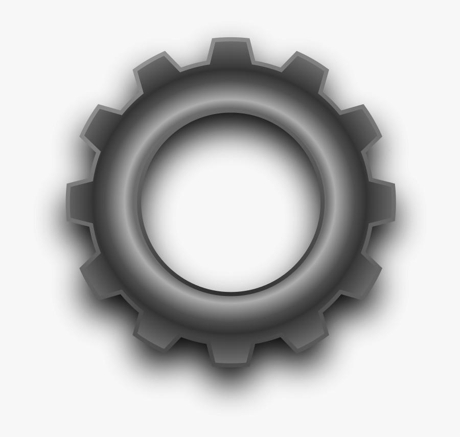 Metal Gear Look At - Gear Corel Draw 3d, Transparent Clipart