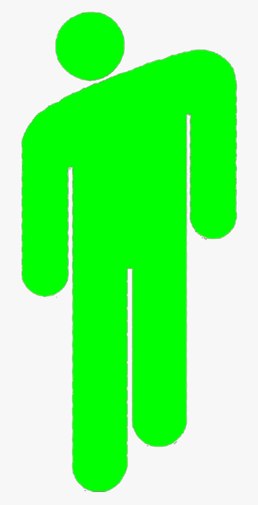 #blohsh #avocados #avocado #billie #eilish #billieeilish - Billie Eilish Logo Sticker, Transparent Clipart