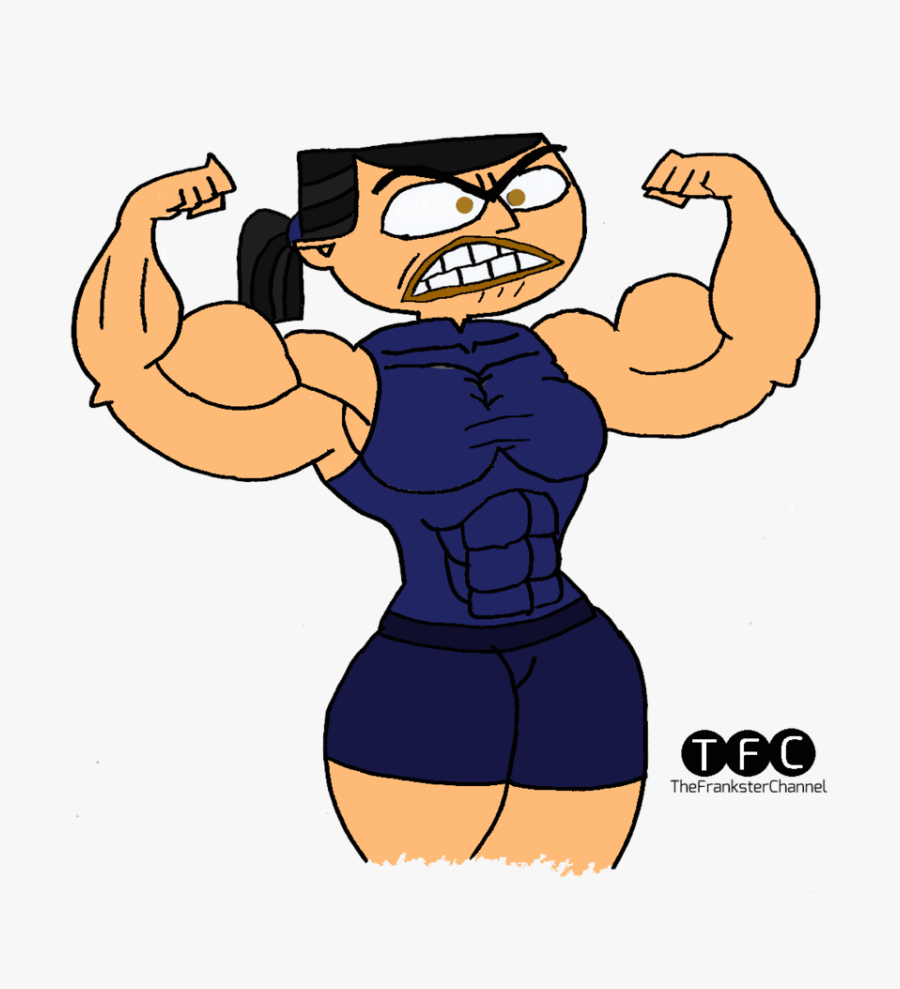 Muscle Clipart Flexed Muscle - Muscle Girls Growth Deviantart, Transparent Clipart