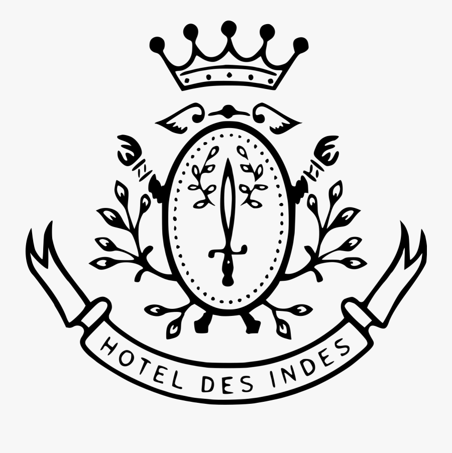Hotel Des Indes - Hotel Des Indes Logo, Transparent Clipart
