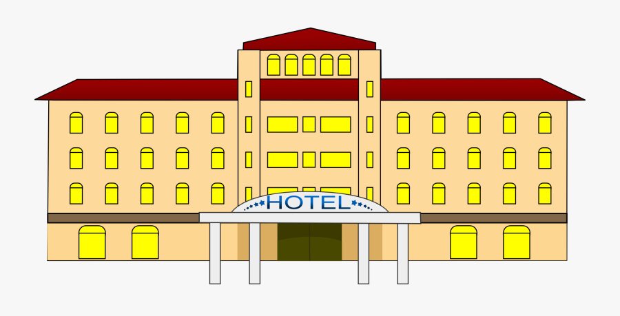Free To Use Amp Public Domain Hotel Clip Art - Hotel Clipart, Transparent Clipart