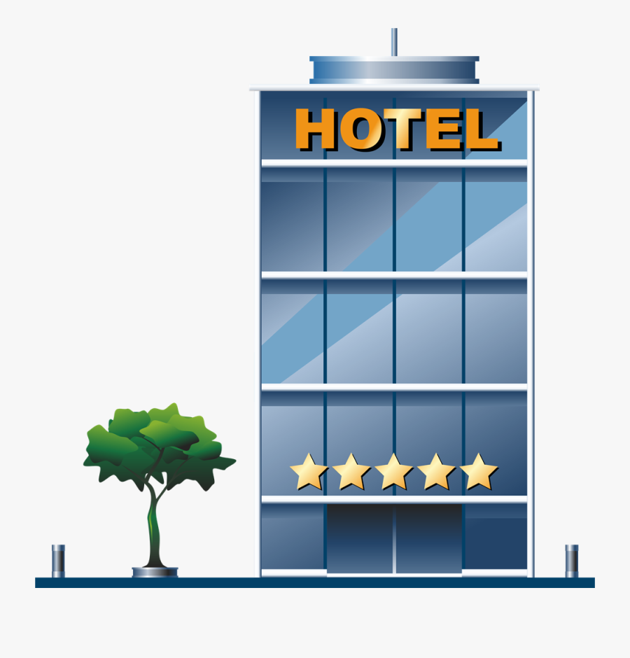 Hotel - Clipart - 5 Star Hotel Png, Transparent Clipart