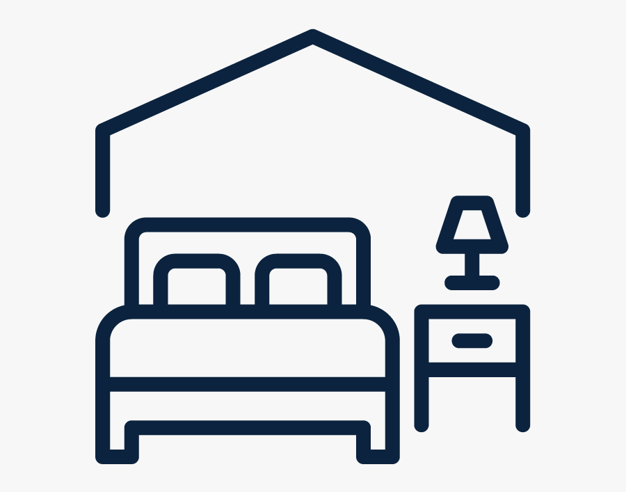 Hotel Room Icon Clipart , Png Download - Hotel Room Icon Png, Transparent Clipart