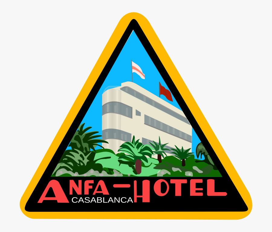 Stiker Hotel, Transparent Clipart