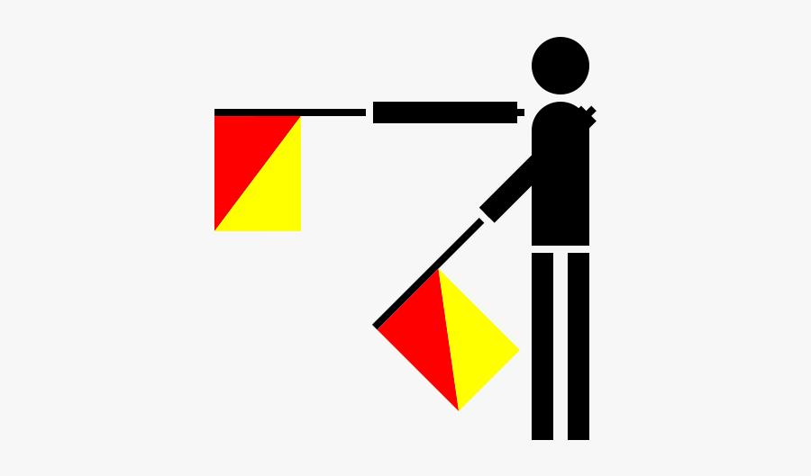 Free Vector Semaphore Hotel Clip Art - Semaphore Flag H, Transparent Clipart