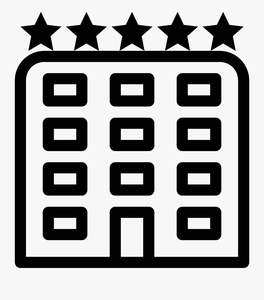 Icons Acur Lunamedia Co - Transparent Hotel Icon Vector, Transparent Clipart
