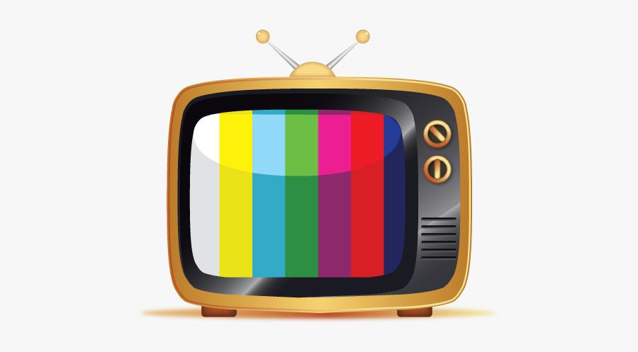 Television Clip Art - Vector Vintage Tv Png, Transparent Clipart