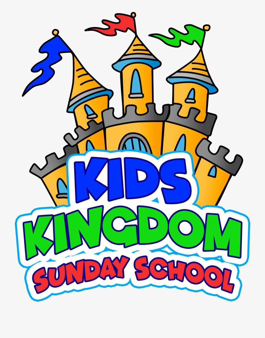 Sunday School Kids Kingdom Logo - Kids Kingdom Logo, Transparent Clipart