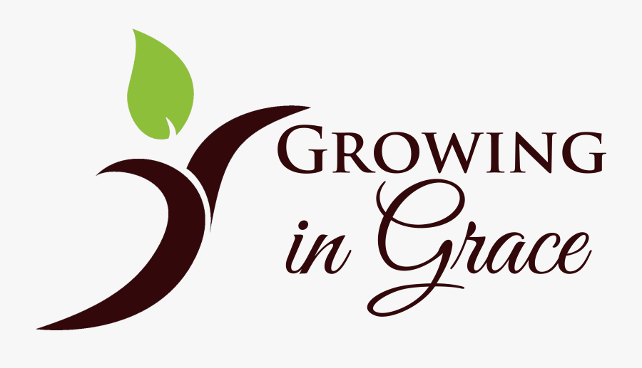 Growing In Grace Logo Updated - Growing In Grace, Transparent Clipart