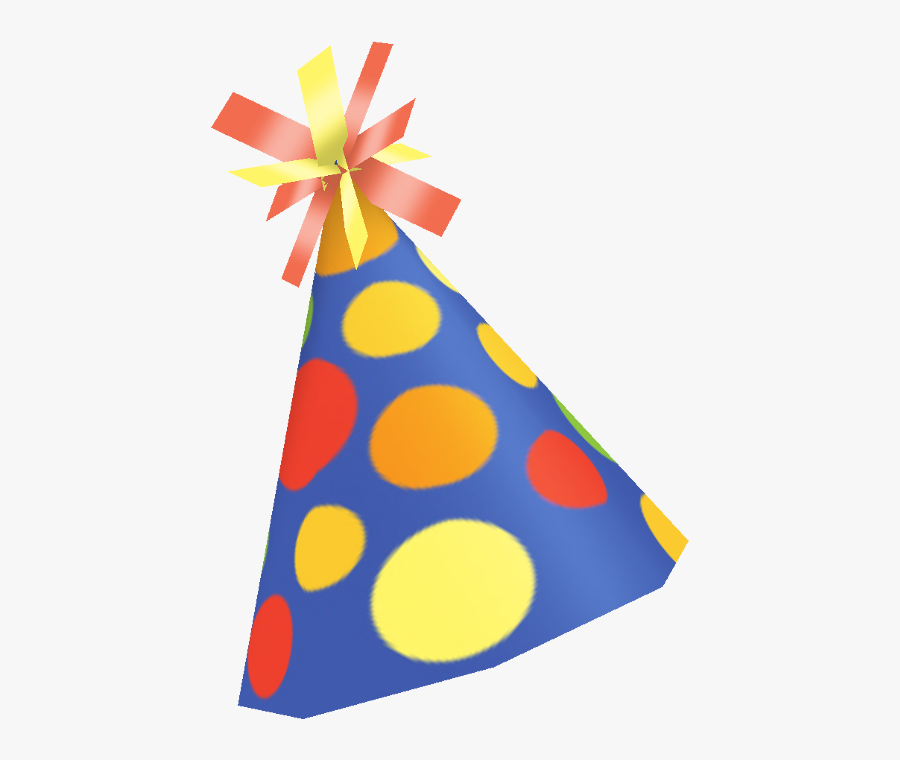 Transparent Party Hats Clipart - Polka Dot Party Hat Clipart, Transparent Clipart