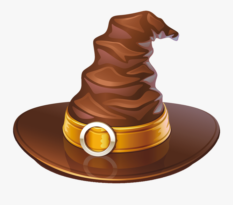 Brown Witch Hat Png Clipart - Halloween Hatpng, Transparent Clipart