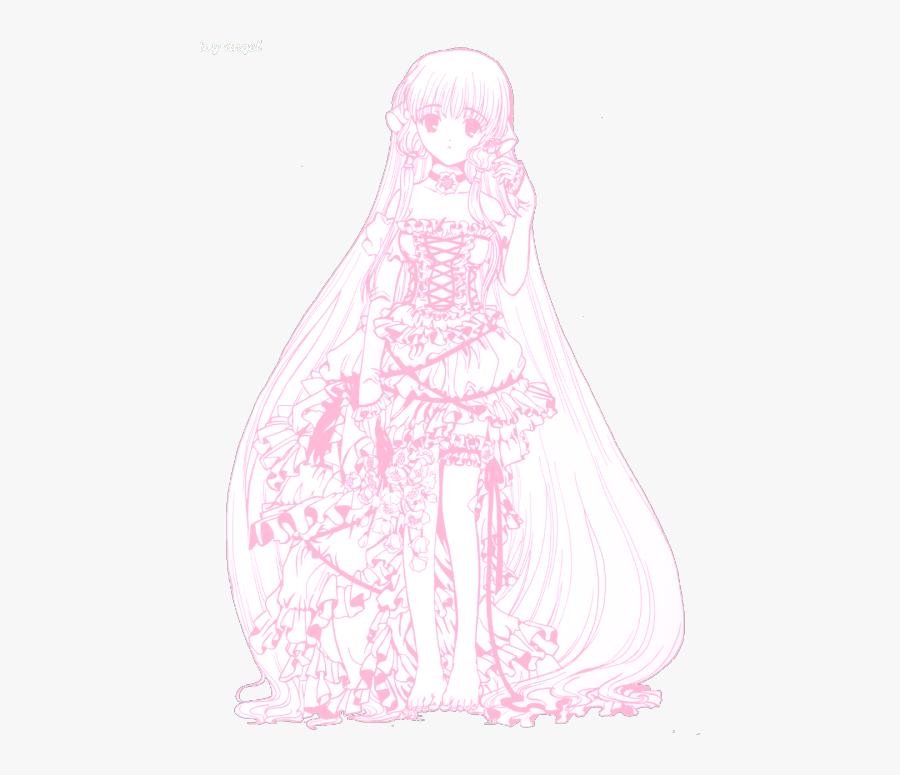 Mine Anime Kawaii Manga Myedit Pink Pastel Chobits - Transparent Aesthetic Pastel Space, Transparent Clipart