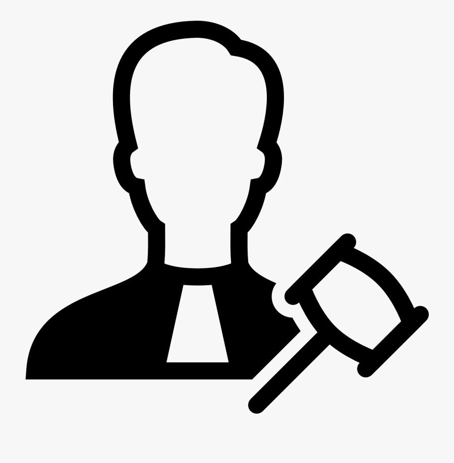 Computer Icons Judge Court - Judge Icon, Transparent Clipart