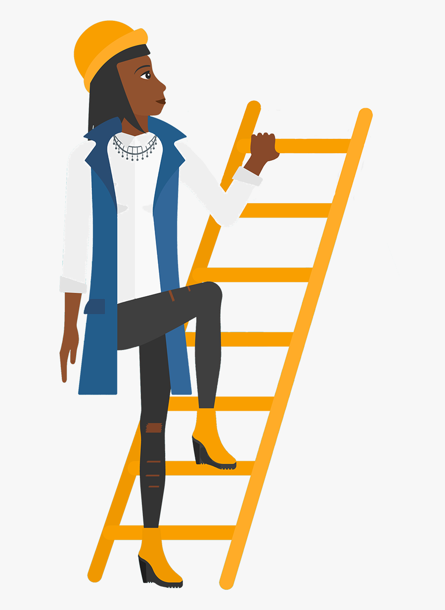 Climb Ladder Png, Transparent Clipart
