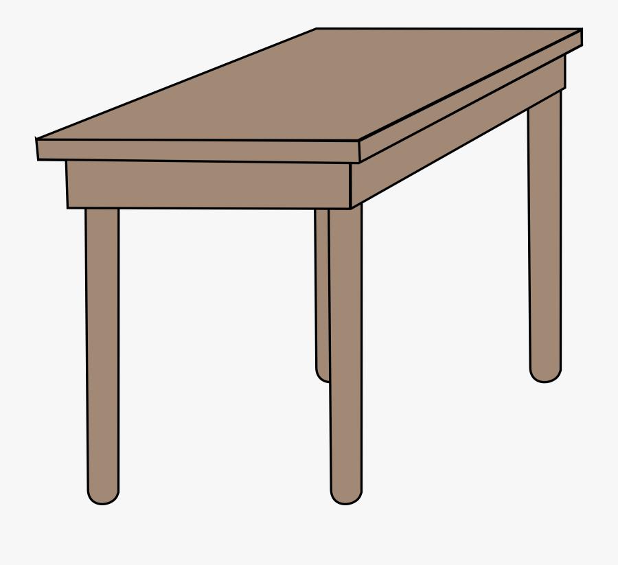 Student Desk - Student Desk Clip Art School Table, Transparent Clipart