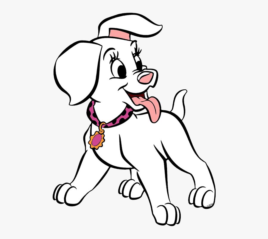 101 Dalmatians Puppies Clip Art Disney Clip Art Galore - 101 Dalmatians Puppy, Transparent Clipart