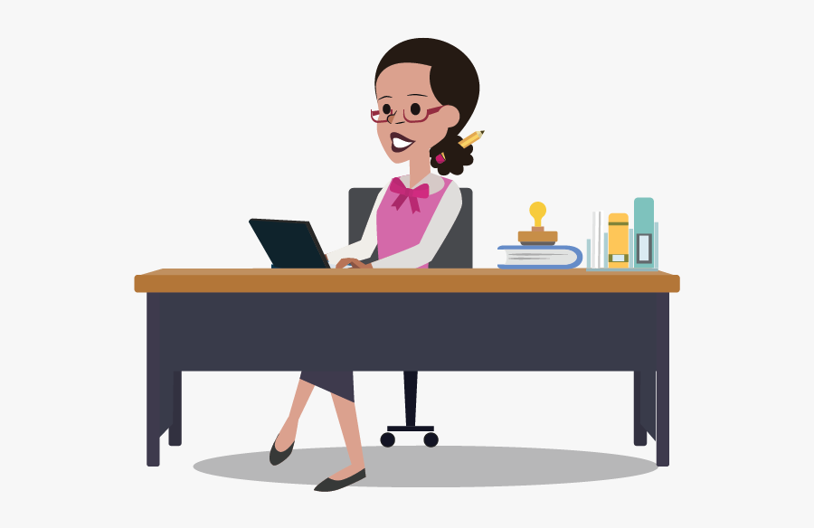 Accountant Clipart Accounting Team - Accountants At Work Clipart, Transparent Clipart