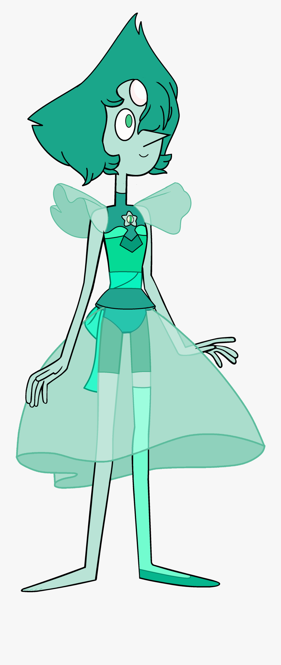 Transparent Pearl Clipart - Steven Universe All Pearls Fusion, Transparent Clipart
