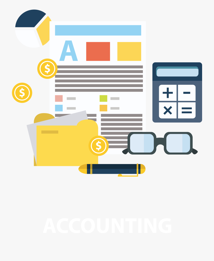 Transparent Accounting Cliparts - Finance And Accounting Png, Transparent Clipart