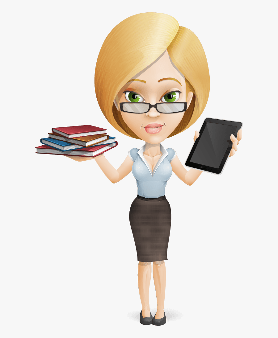 Site Map - Cartoon Business Woman Png, Transparent Clipart