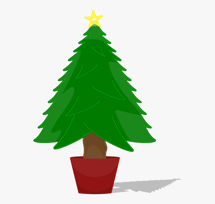 Jpg Freeuse Download Christmas Trees Clipart Free - Christmas Tree Not Decorated, Transparent Clipart